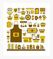 retro kitchenware Photographic Print