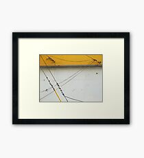 Abstract Tension Framed Print