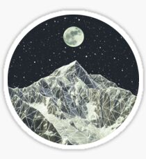 Vollmond Sticker