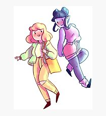 Marceline and Bubblegum (adventure time) Photographic Print