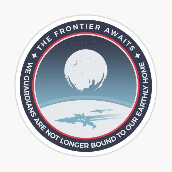 The Frontier Awaits Sticker