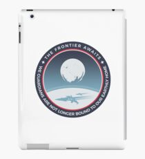 The Frontier Awaits iPad Case/Skin