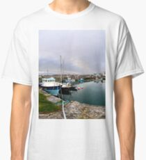 Hurry Head Harbour, Carnlough, County Antrim Classic T-Shirt