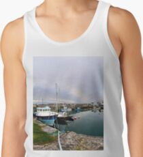 Hurry Head Harbour, Carnlough, County Antrim Men's Tank Top