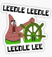 Leedle Leedle Leedle Lee - Spongebob Sticker