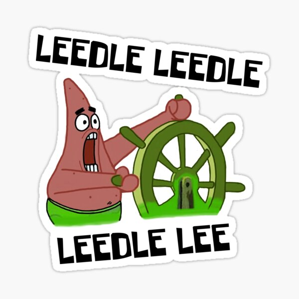 Leedle Leedle Leedle Lee Sticker