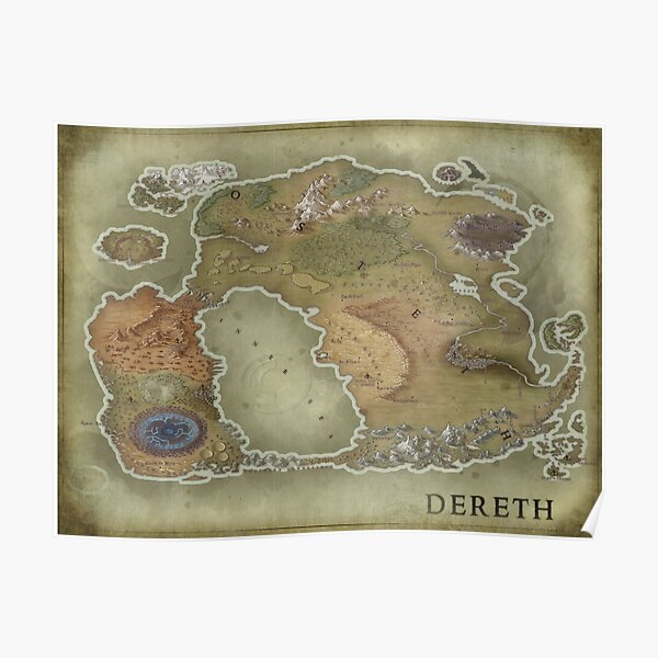 Asheron's Call - Dereth revisited Poster