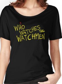 Who Watches? Women's Relaxed Fit T-Shirt