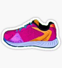 Running Shoe 1 Sticker