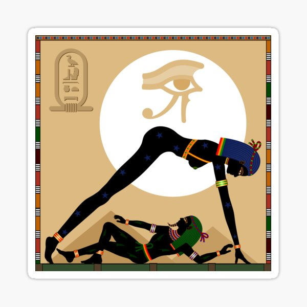 Religion of Ancient Egypt.  Sticker