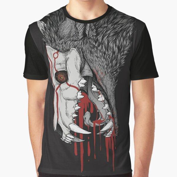 Fall- Black  Graphic T-Shirt