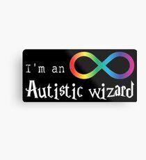 Autistic Wizard Metal Print