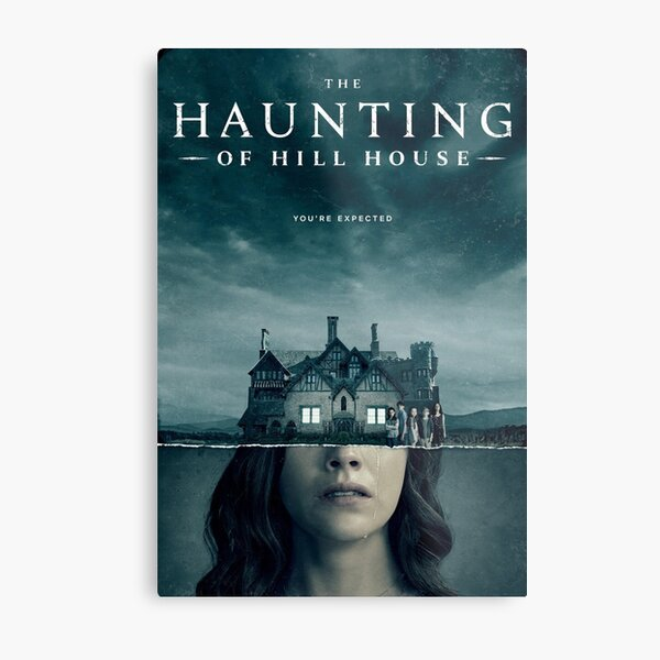 THE HAUNTING OF HILL HOUSE netflix serie horror  Metal Print