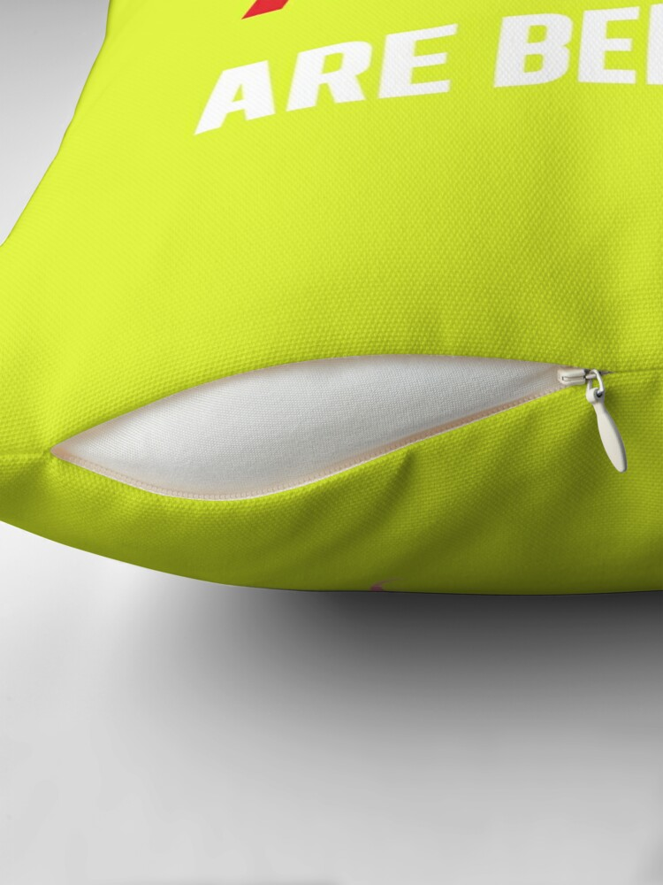 Alternate view of The Nargles Throw Pillow