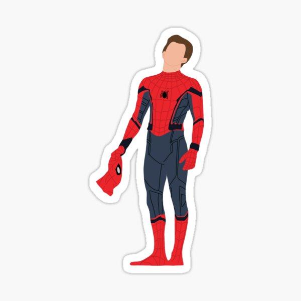 Tom Holland in spidey suit Sticker