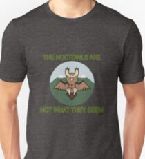 The Noctowls Are Not What They Seem Unisex T-Shirt