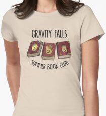 Gravity Falls: Summer Book Club Women's Fitted T-Shirt