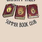Gravity Falls: Summer Book Club by pondlifeforme