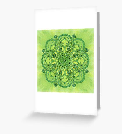 - Green Garden - Greeting Card