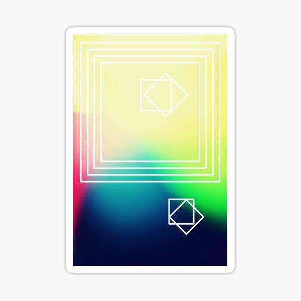 mehr quadrate Sticker