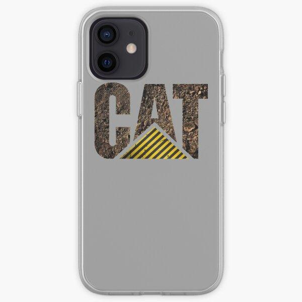 CAT Logo - Dirt 1 iPhone Soft Case
