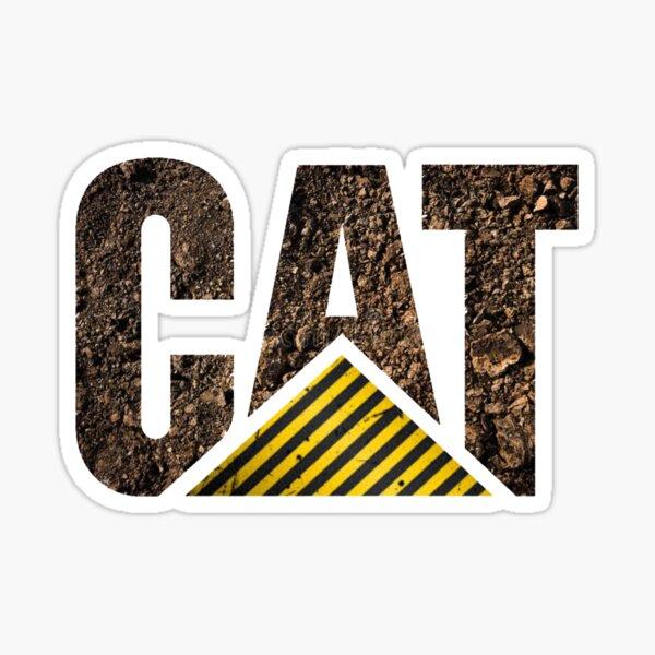 CAT Logo - Dirt 1 Sticker