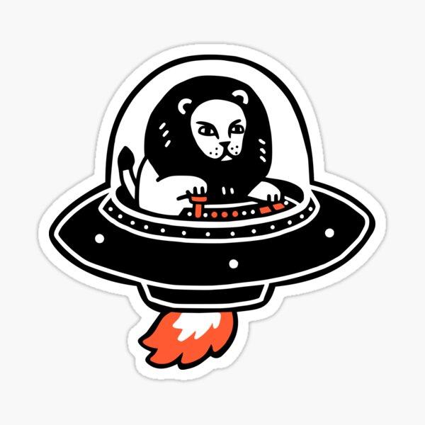 Alion Spaceship Sticker