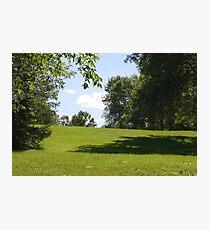 Field landscape. Photographic Print