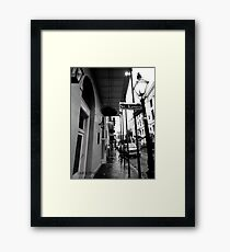 St Louis St, New Orleans Framed Print