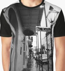 St Louis St, New Orleans Graphic T-Shirt