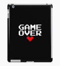 [Black] Game Over My Love iPad Case/Skin