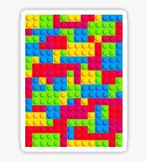 Coloured Bricks Sticker