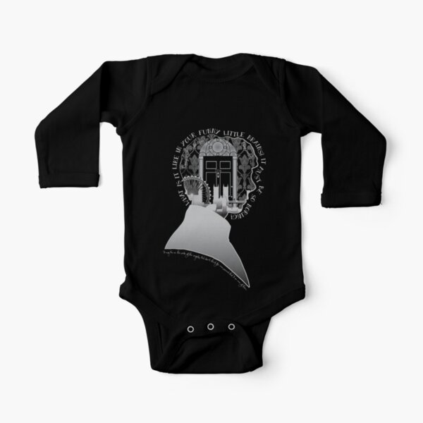 What is it Like in Your Funny Little Brains? Long Sleeve Baby One-Piece