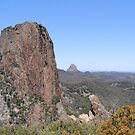 View from the High Tops, (2) Warrumbungle Nat. Park. N.S.W. by Rita Blom