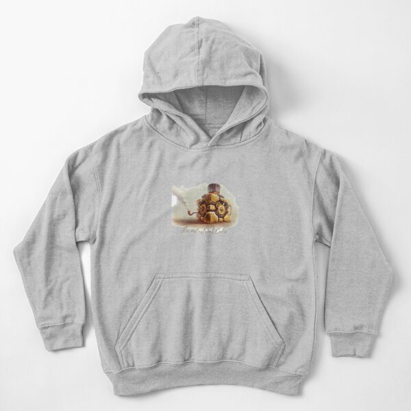 the industrial portal cube Kids Pullover Hoodie