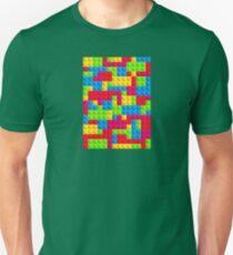 Coloured Bricks Unisex T-Shirt