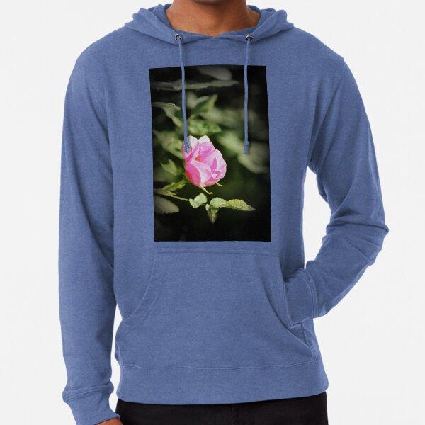 Old fashioned pink rose, near Trojan pond, Oregon 2 Lightweight Hoodie