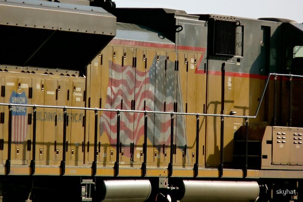 Patriotic Train by skyhat