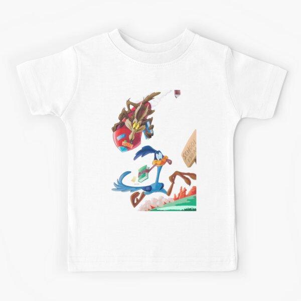 Correcamino y El Coyote 3 Camiseta para niños