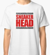 Sneakerhead - Fire Red Cement Classic T-Shirt