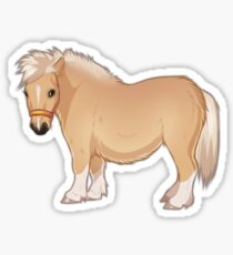 Palomino mini-pony sticker Sticker