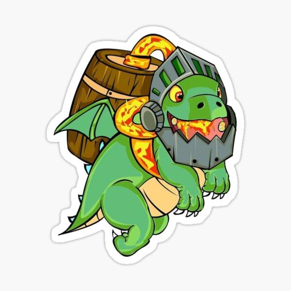 Inferno dragon Sticker