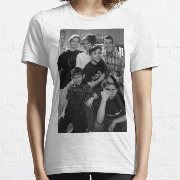 Malcolm en la foto en blanco y negro Camiseta esencial