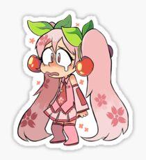 Sakura Miku Sticker