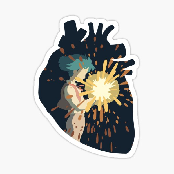 A Hearts a Heavy Burden  Sticker