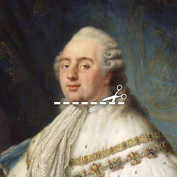 Cut Here - Louis XVI by KatieBuggDesign