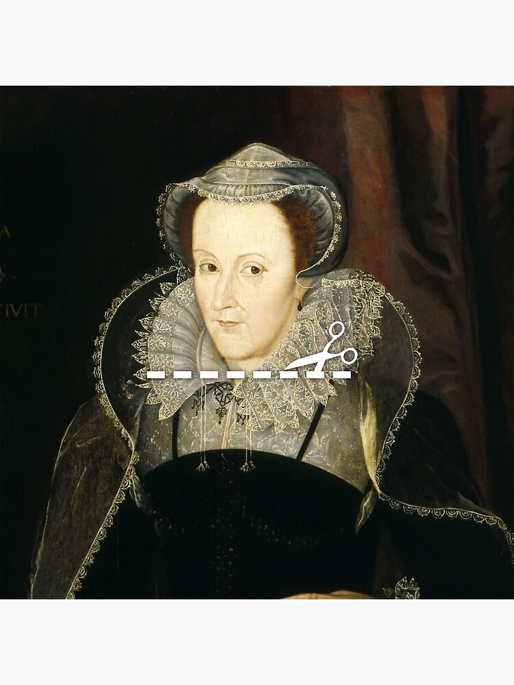 Cut Here - Mary, Queen of Scots by KatieBuggDesign