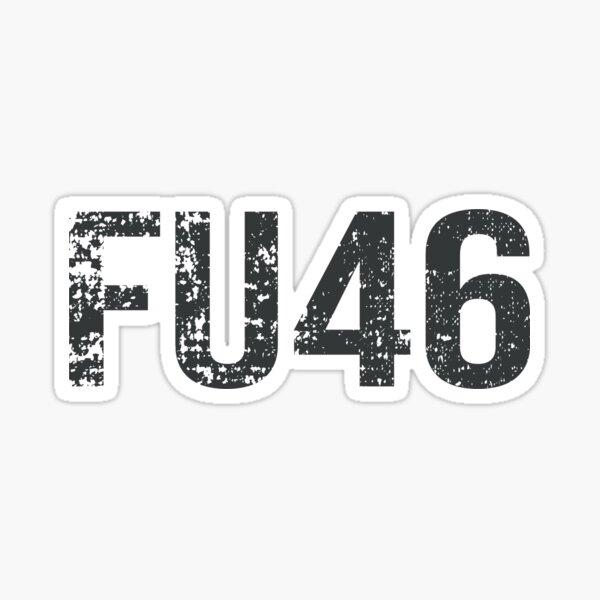 FU46 buck fiden Anti Joe Biden Joe Biden Sucks  2020 men and women Sticker