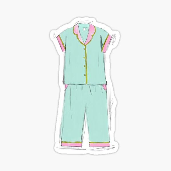 Sketchy Pyjamas  Sticker