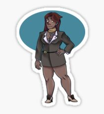 Mia Fey Sticker